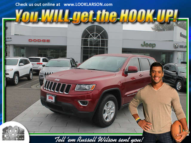 2015 Jeep Grand Cherokee near Tacoma at Larson Chrysler Jeep Dodge Ram