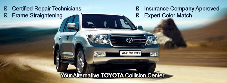 Toyota Collision Center In Greensboro, NC