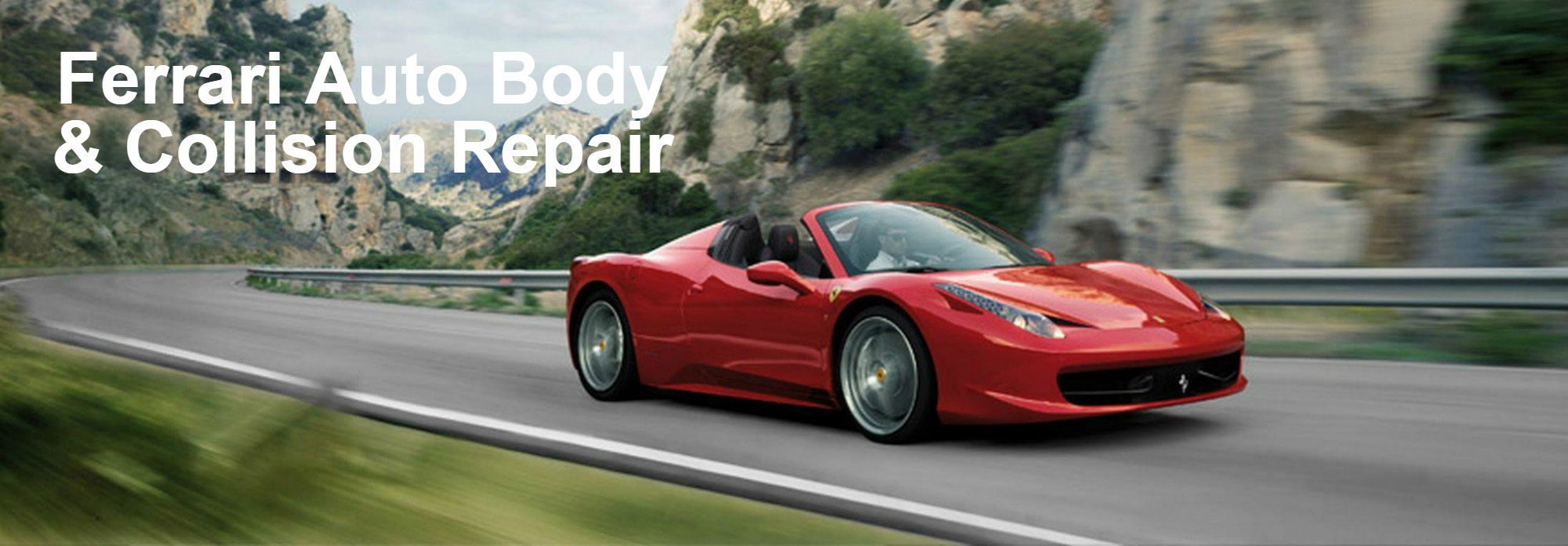 Ferrari body shop greensboro certified collision repair for Certified mercedes benz mechanic near me