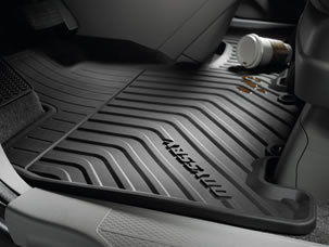 2015 Honda Odyssey accessories all-season floor mats