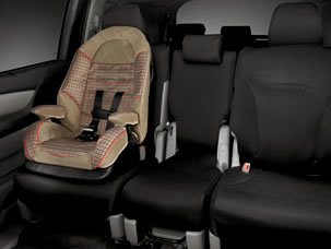2015 Honda Odyssey accessories second-row seat covers