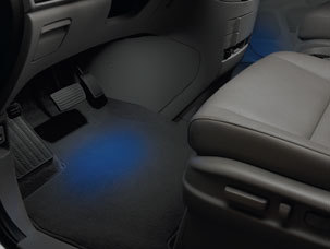 2015 Honda Odyssey accessories interior illumination