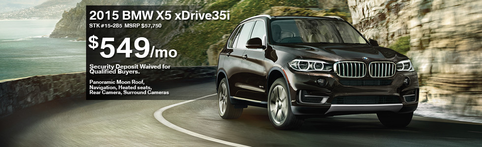 2015 BMW X5 Lease Special  BMW of Schererville
