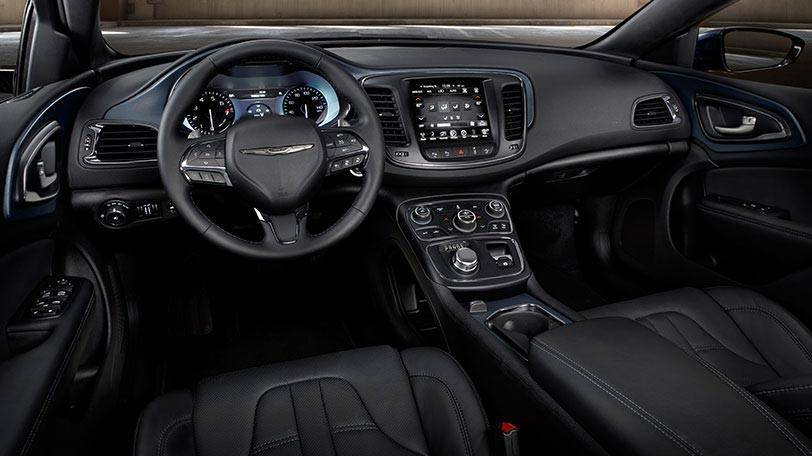2015 Chrysler 200 interior cabin