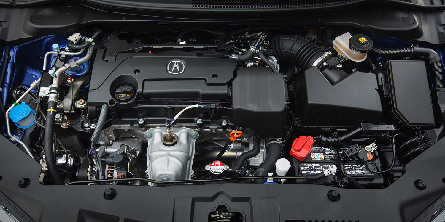 2016 Acura ILX 2.4-Liter four-cyinder engine