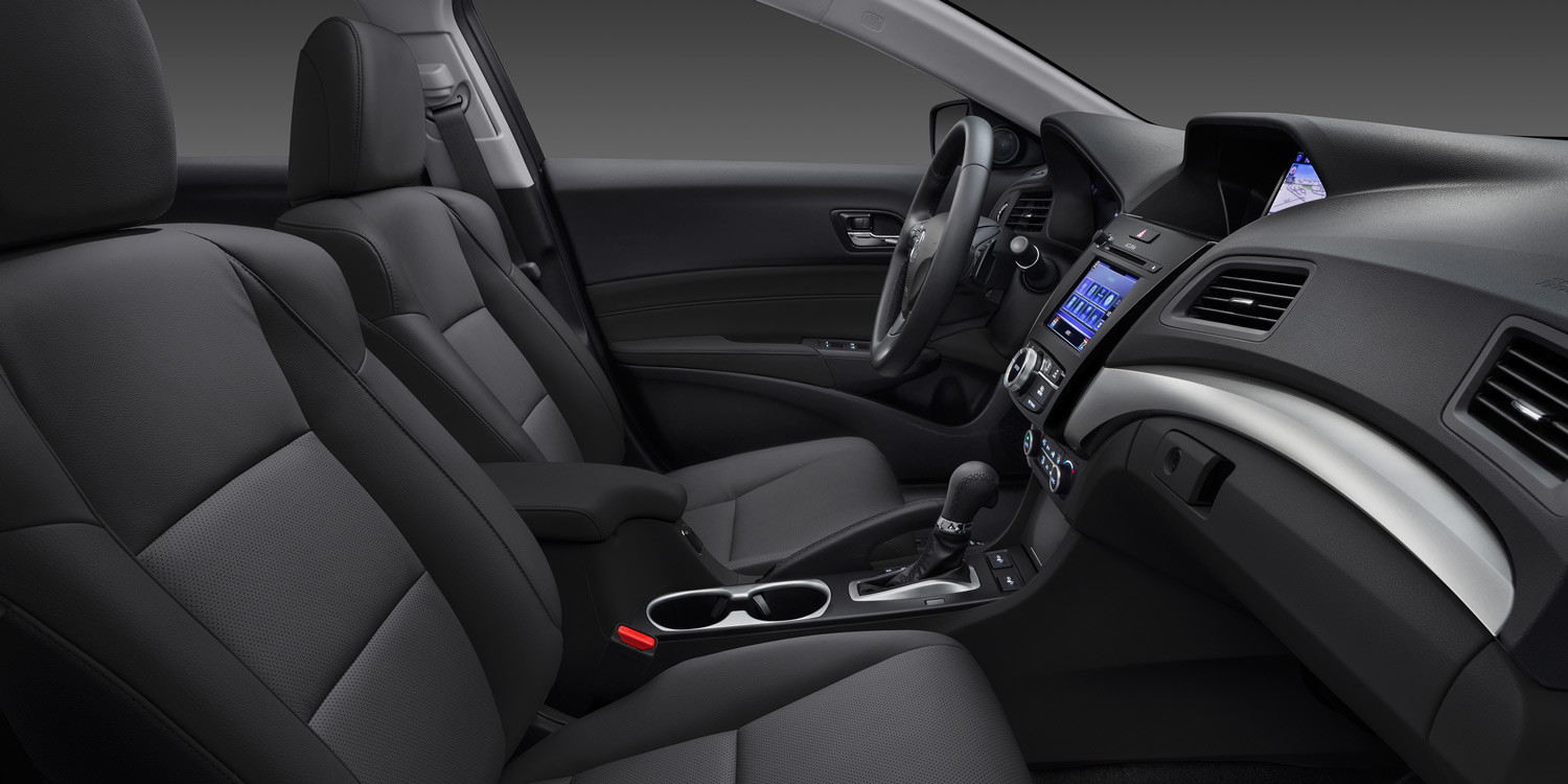 2016 Acura ILX interior seating heated seats
