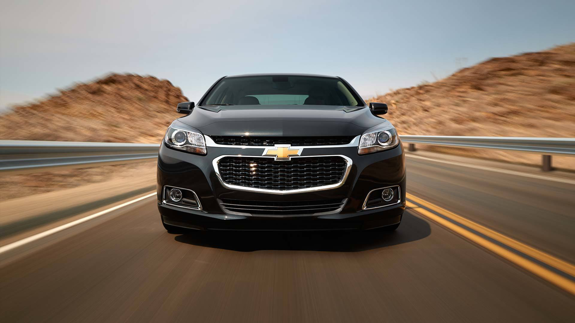 2015 Chevy Malibu exterior front
