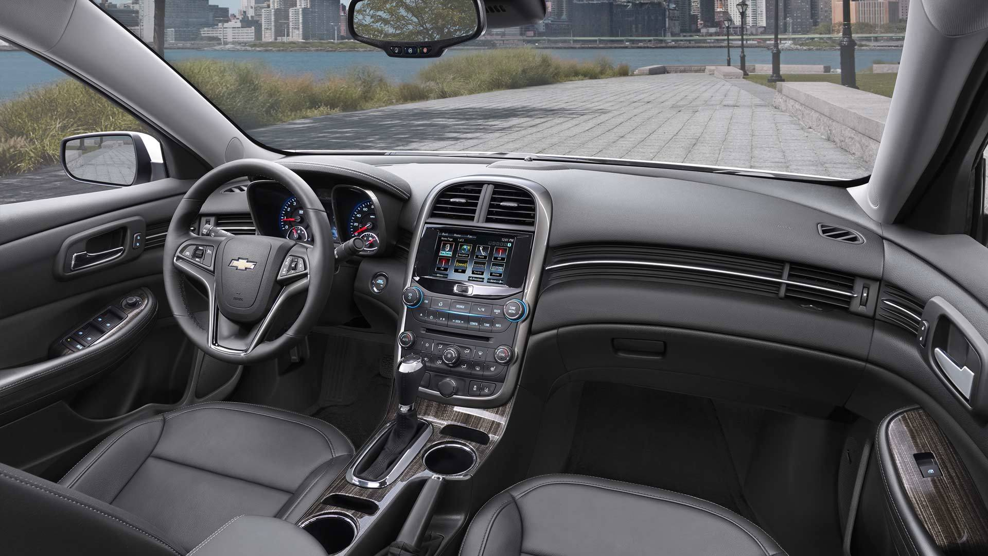 2015 Chevy Malibu interior cabin