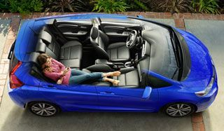 Refresh Mode in the 2015 Honda Fit