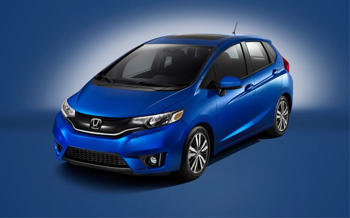 2015 Honda Fit Comparison Exterior Front