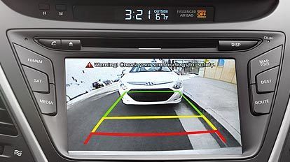 2016 Elantra Rearview Camera Display