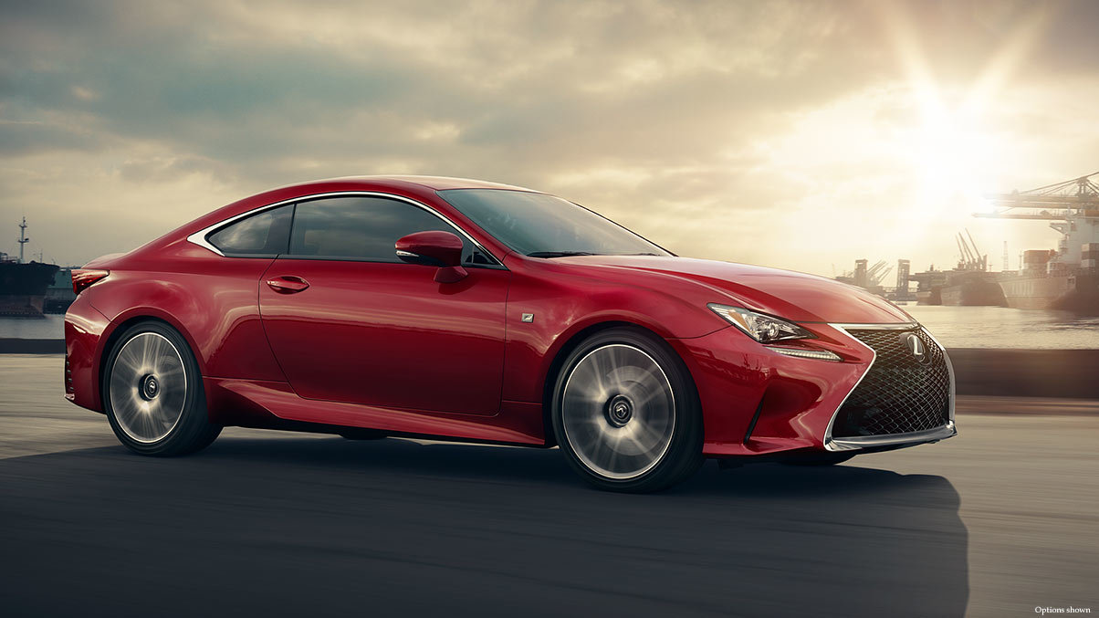 2015 Lexus RC Exterior Side Comparison In Virginia