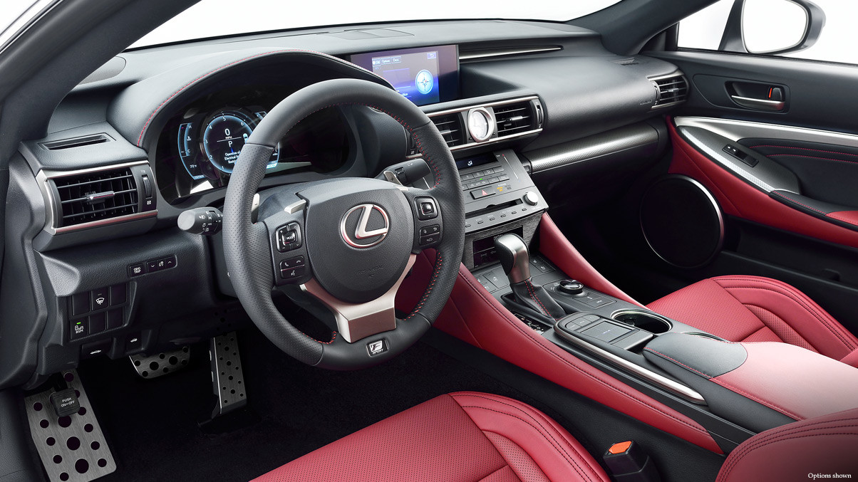 2015 Lexus RC Interior Cabin Comparison In Virginia