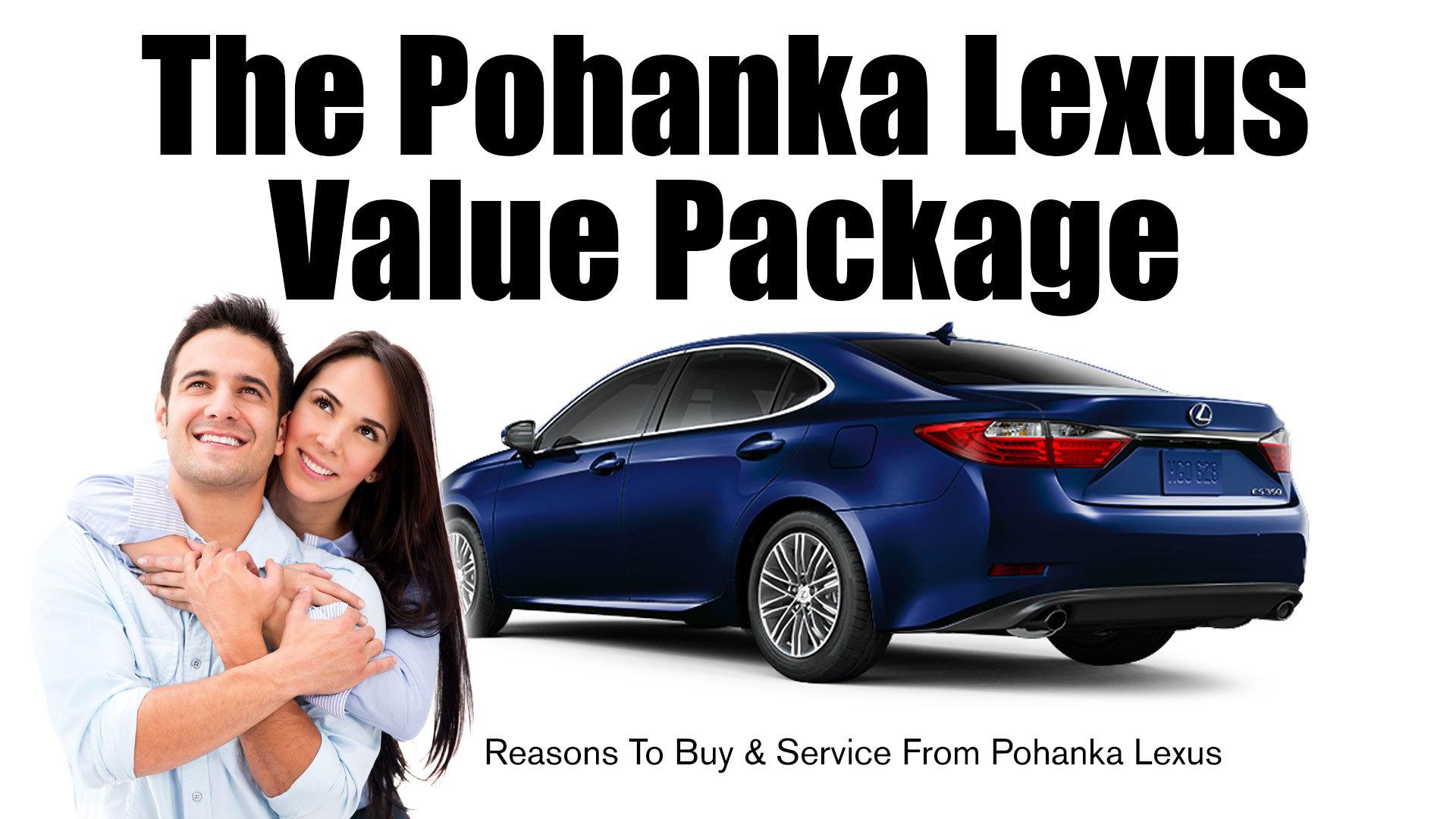 Pohanka lexus service coupon