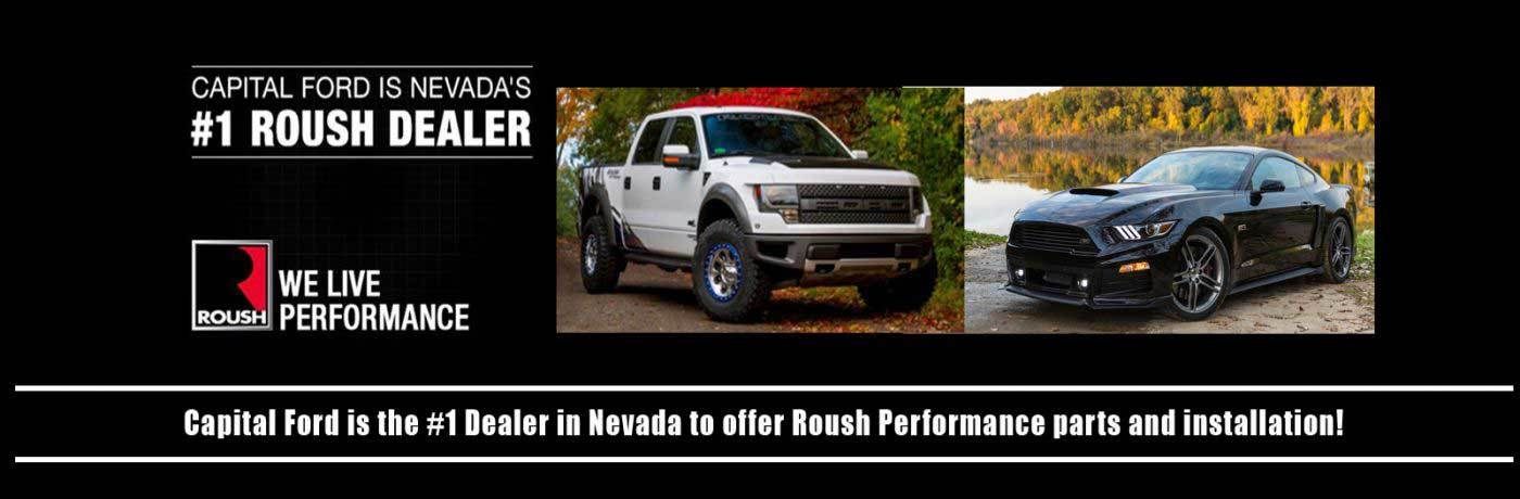 Capital Ford Is The  Dealer In Nevada To Offer Roush Performance Parts Installaton