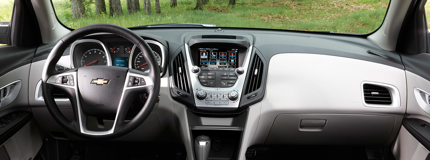 2016 Chevy Equinox Washington DC Interior Cabin