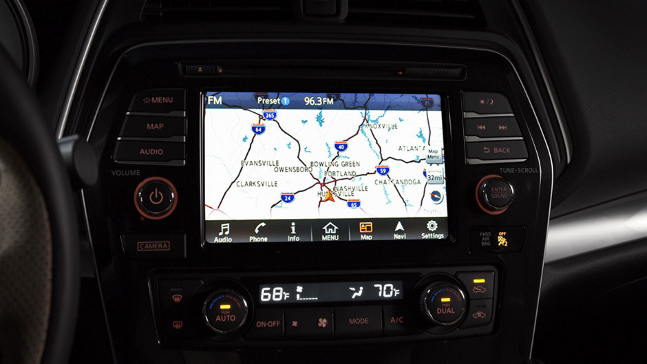 2016 Nissan Maxima Trims Woodbridge, VA, Navigation System