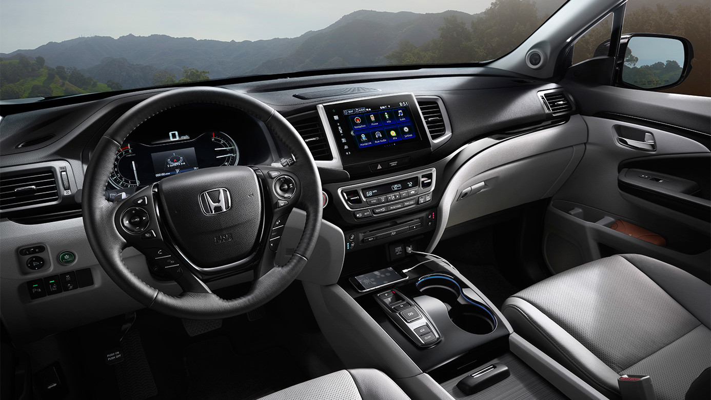 2016 Honda Pilot Interior Technology