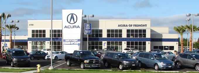 Acura Of Fremont Fremont Auto Mall - Acura parts dealer