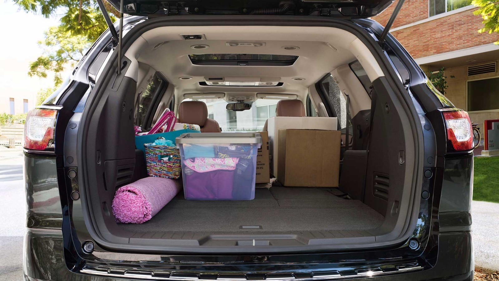 Chevy Traverse Storage Space