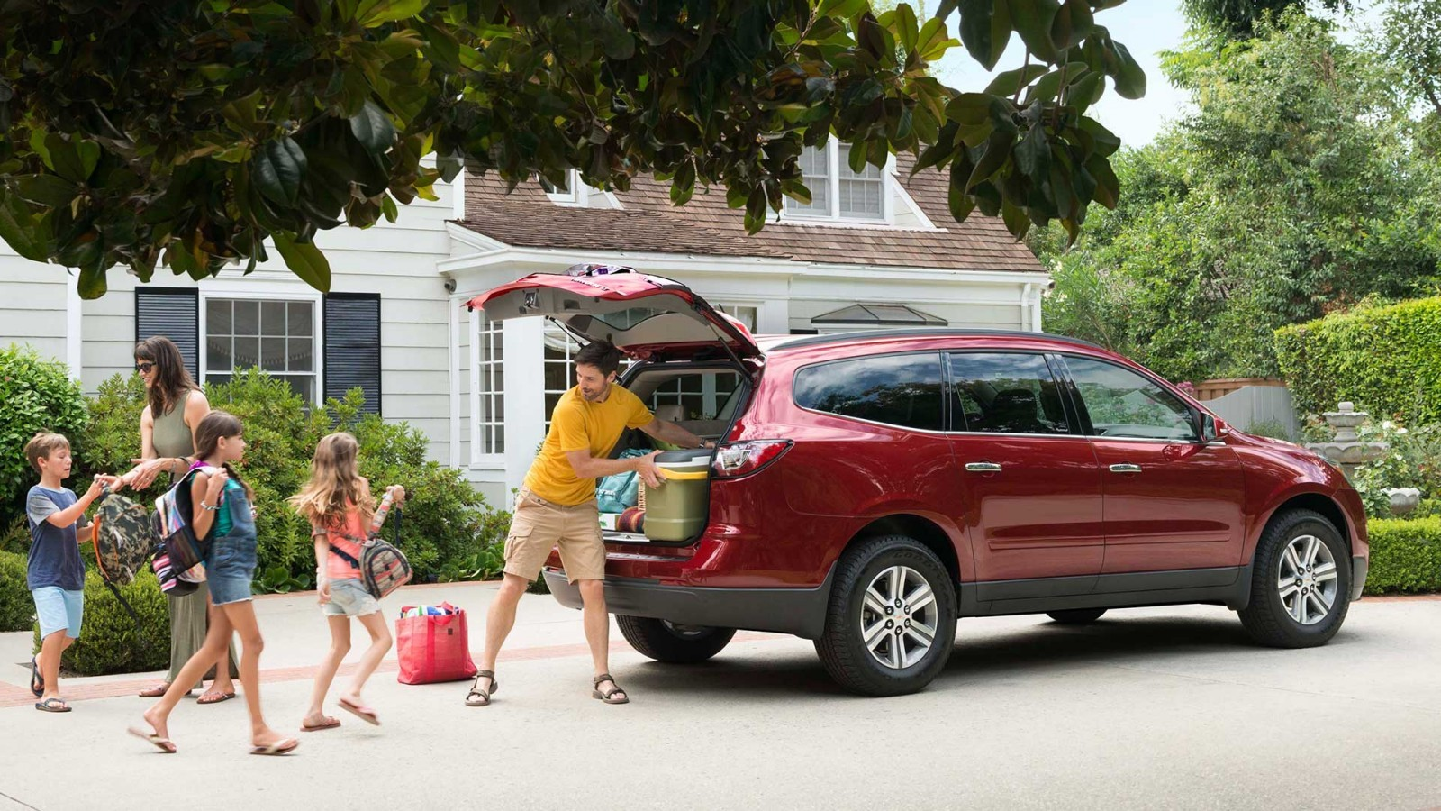 Chevy Traverse Power Liftgate