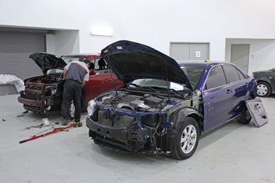 Crown Toyota Body Shop Tech