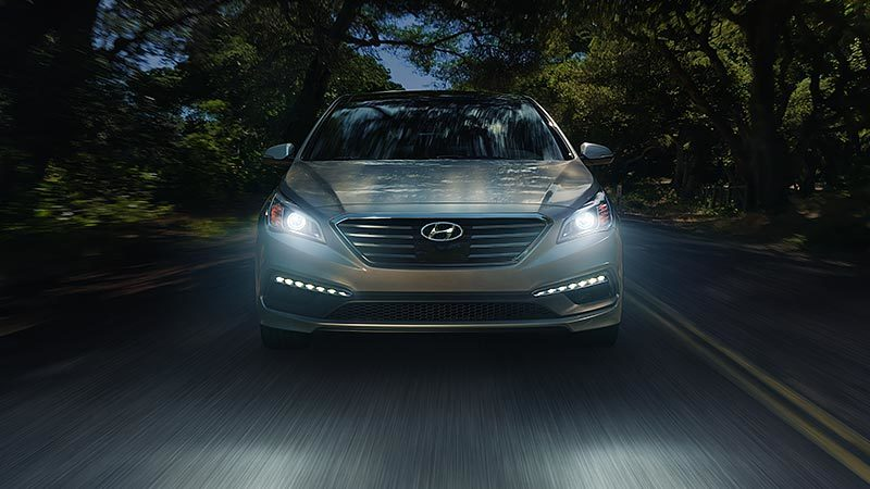 LED Headlights on the Hyundai Sonata