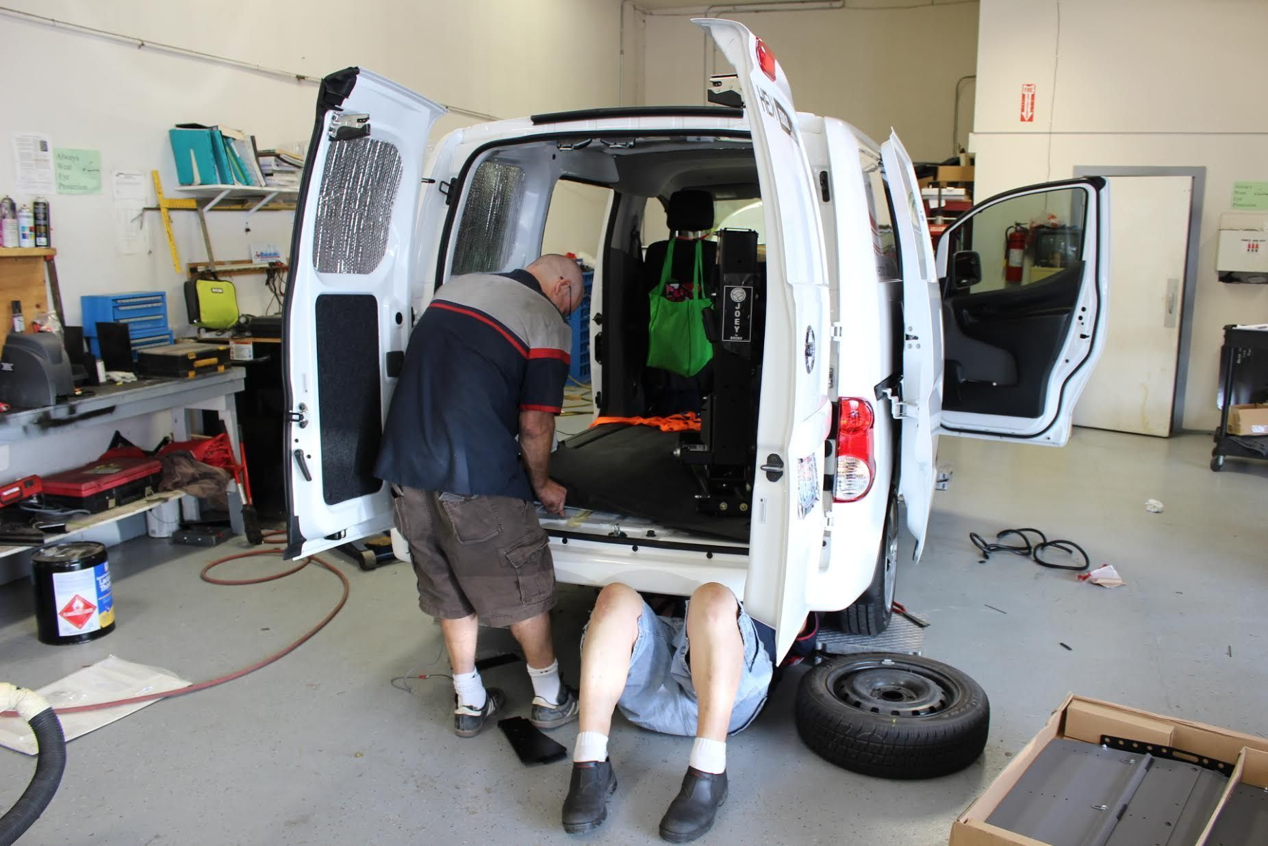 Wheelchair Van Conversion Service in Tacoma at Absolute Mobility Center