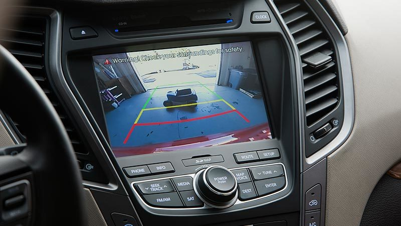 Hyundai Santa Fe Rearview Camera
