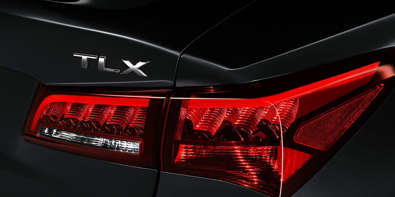 Acura TLX Taillights and Badge