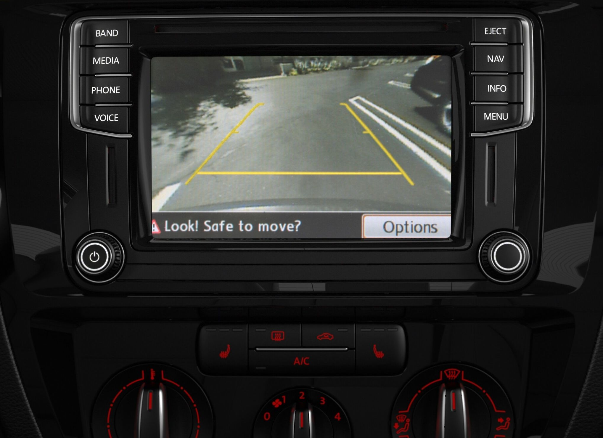 VW Jetta Rearview Camera and Climate Control