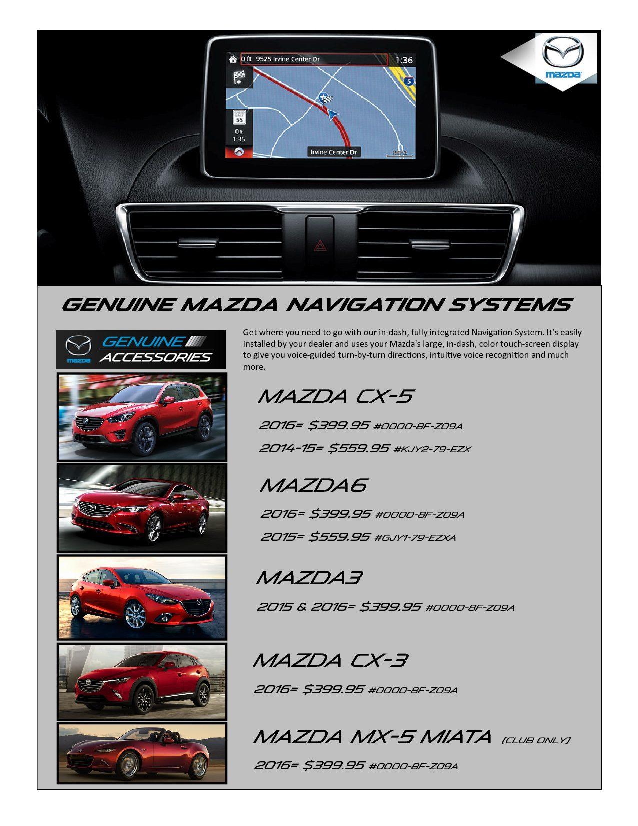 2016 mazda cx 5 navigation install