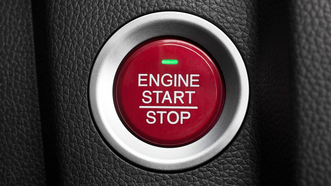 2016 Fit push-button start