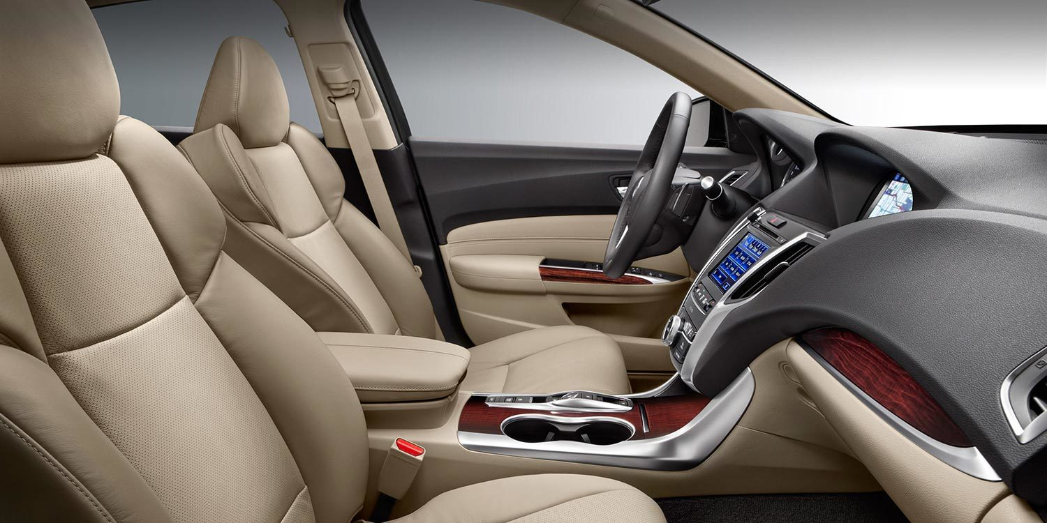 2016 Acura TLX Luxury Interior