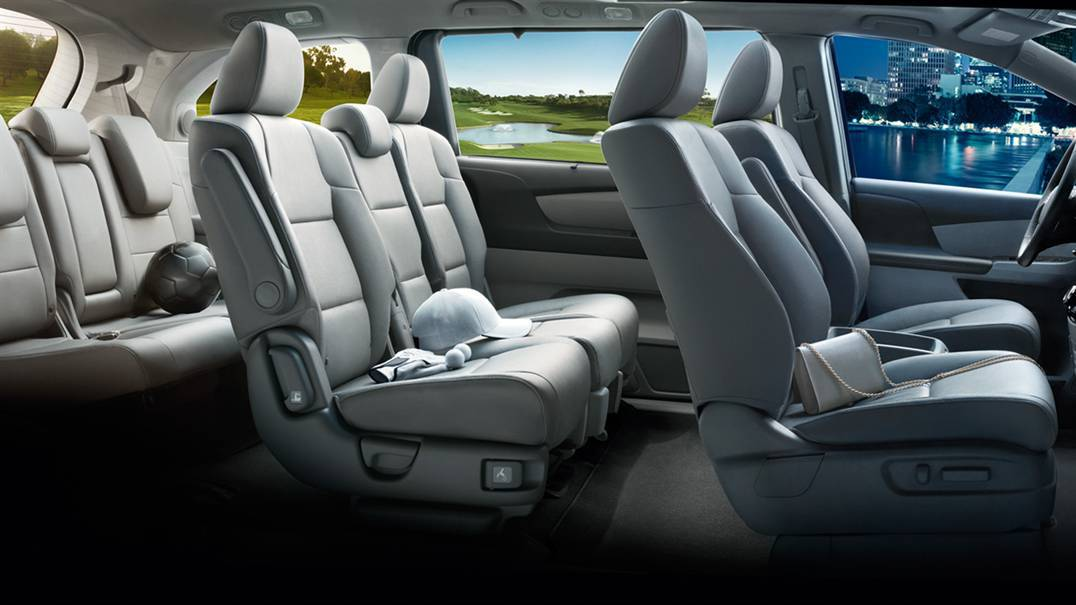 2016 Odyssey Interior Seating