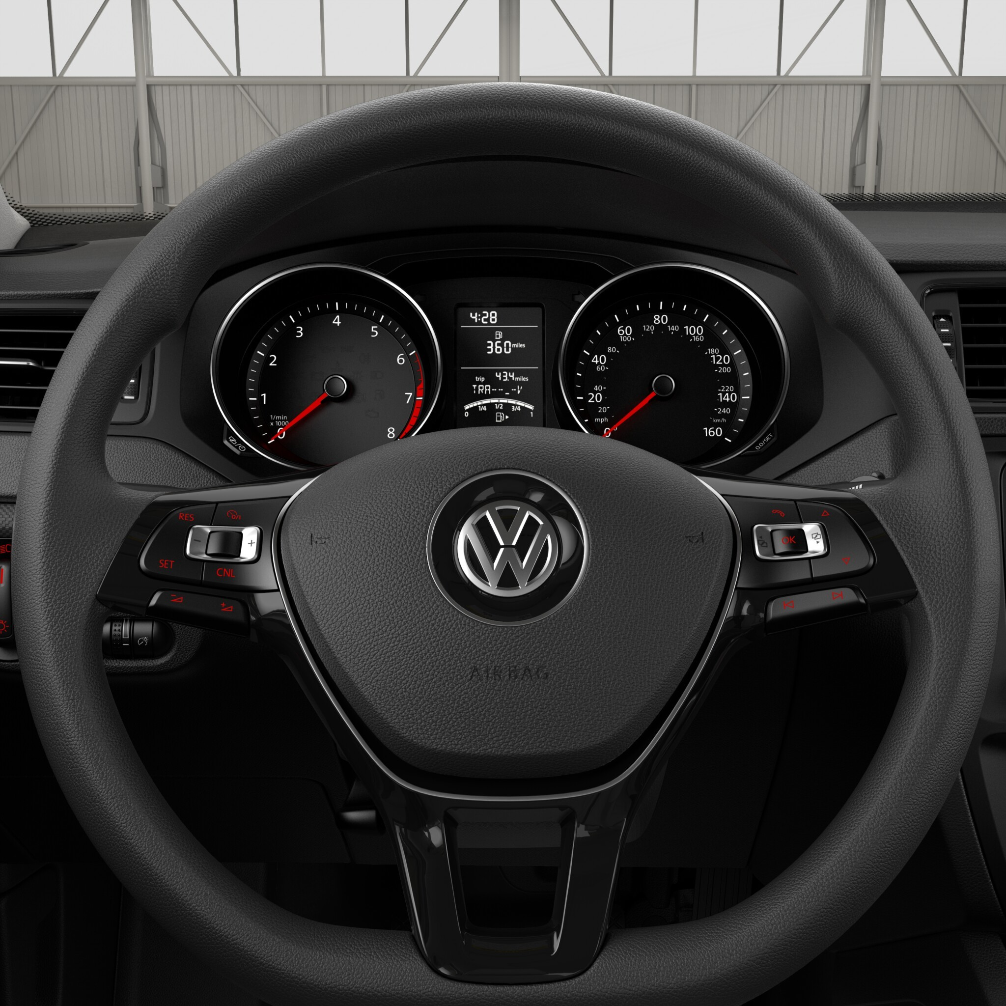 2016 VW Jetta Steering Wheel Controls