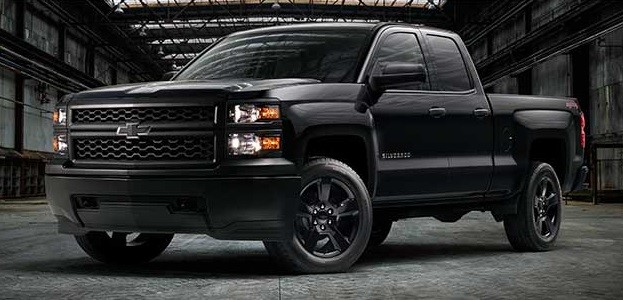2016 Chevy Silverado Black Out