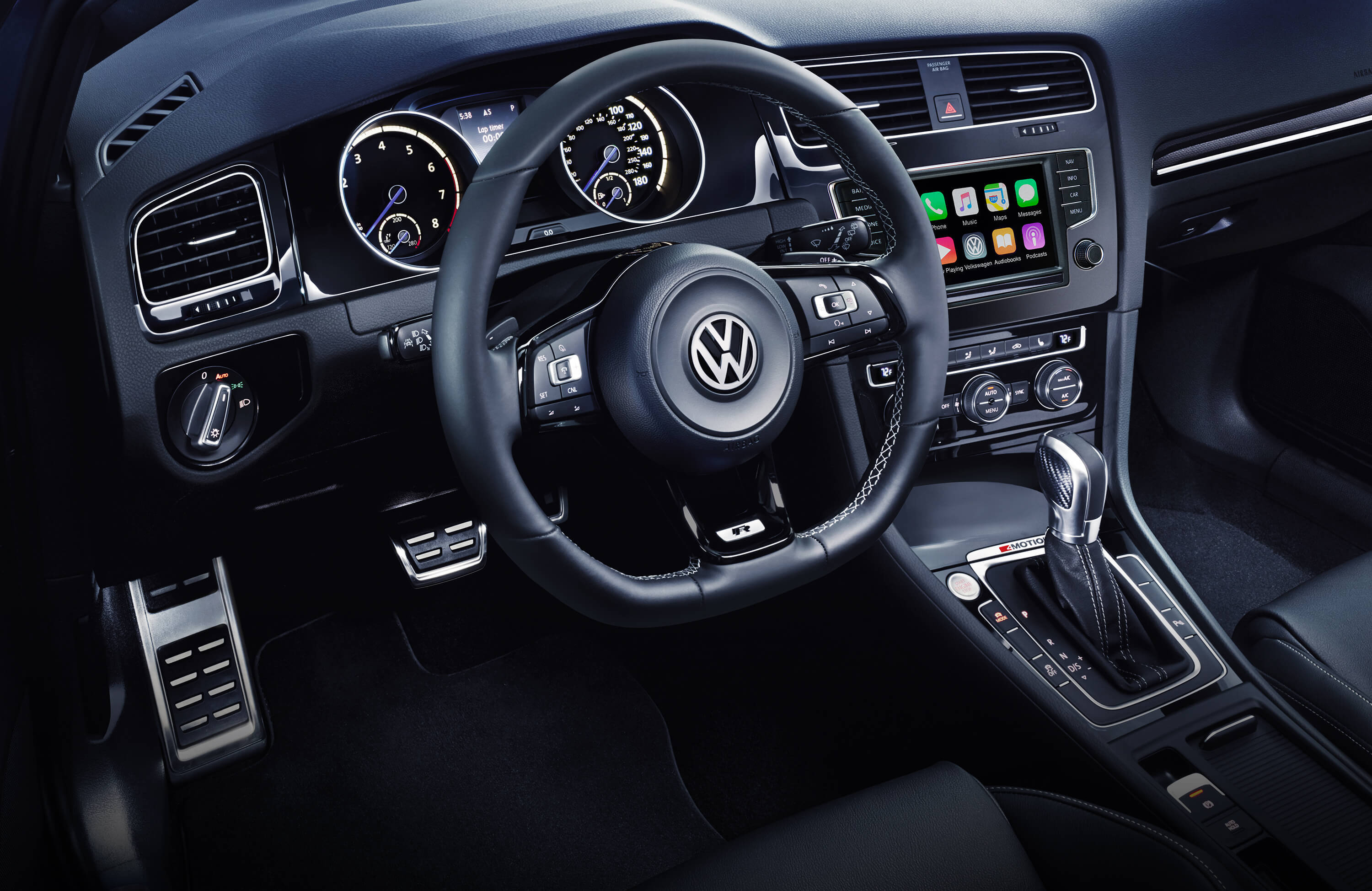 2016 VW Golf R Interior