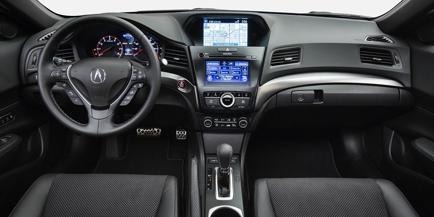 2016 Acura ILX Center Stack with Navigation System