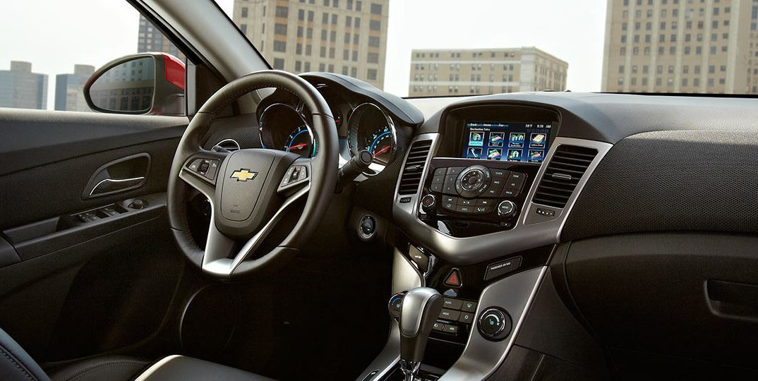 2016 Cruze Limited Interior