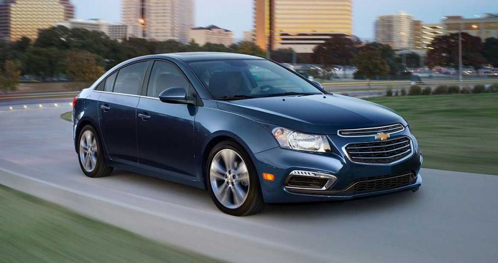 Chevy Cruze Limited Exterior