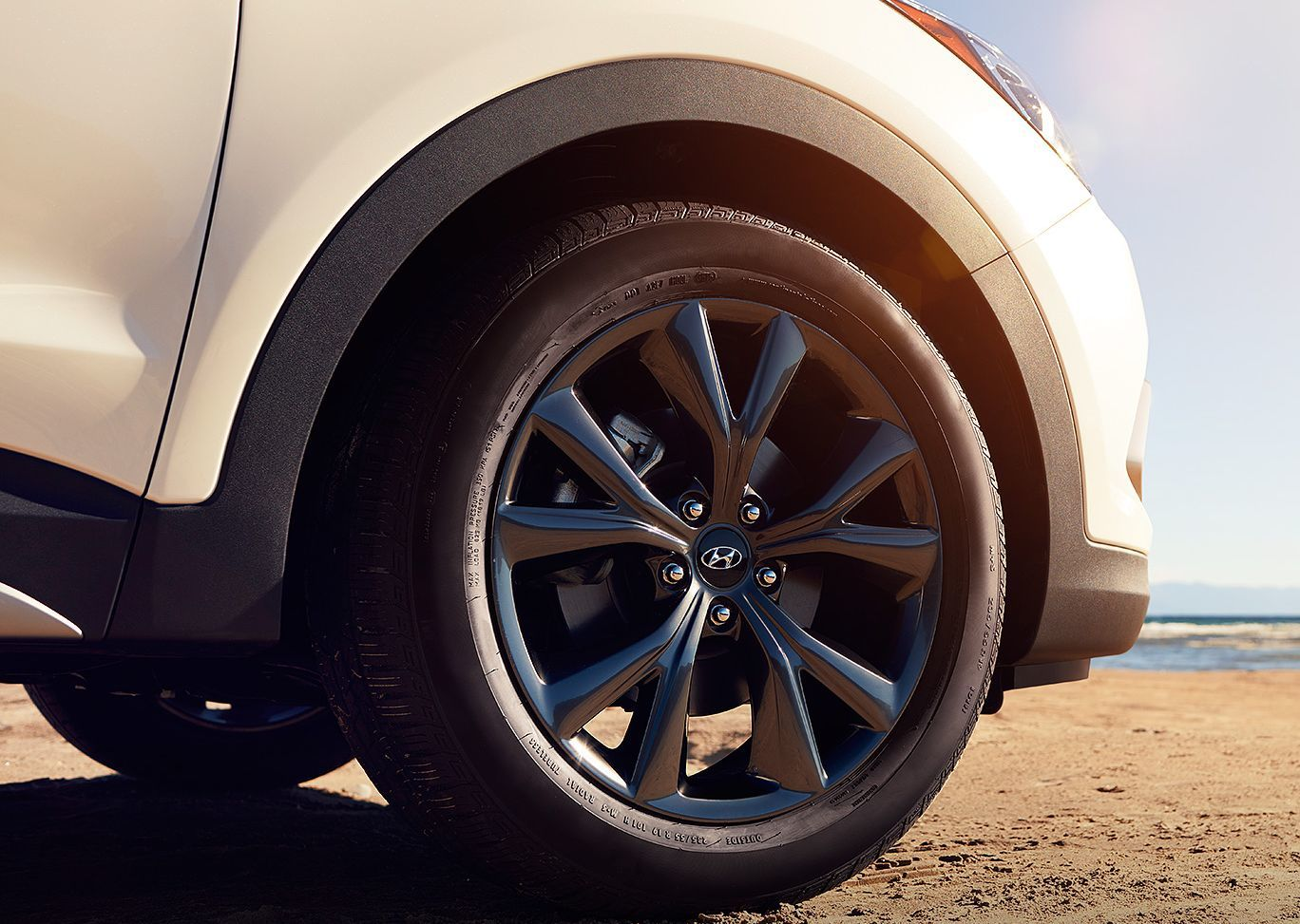 2017 Santa Fe Sport 19-inch Alloy Wheels