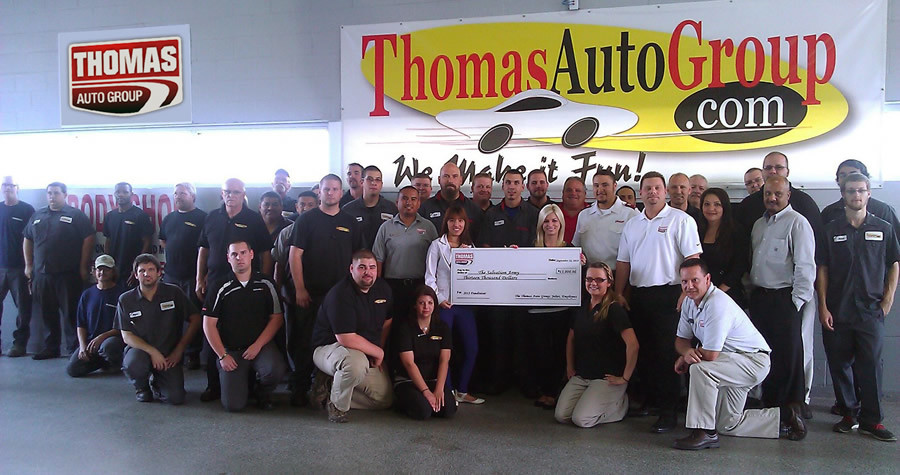 Thomas Auto Group - Community News