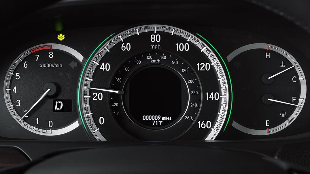 2016 Accord Gauges