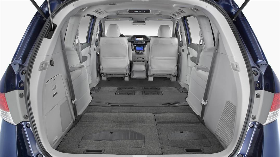 Interior Space on the 2016 Honda Odyssey