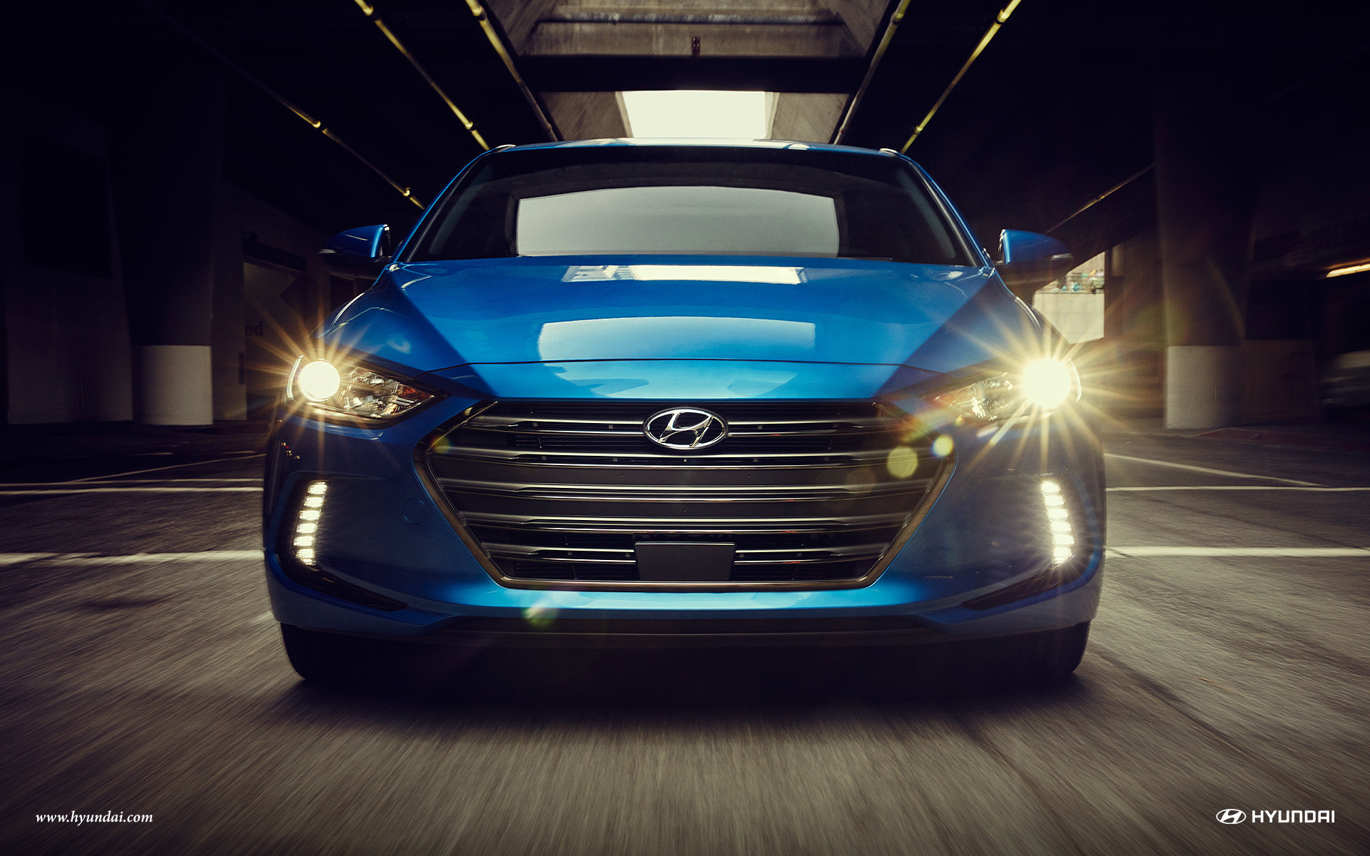2016 Hyundai Elantra in Electric Blue