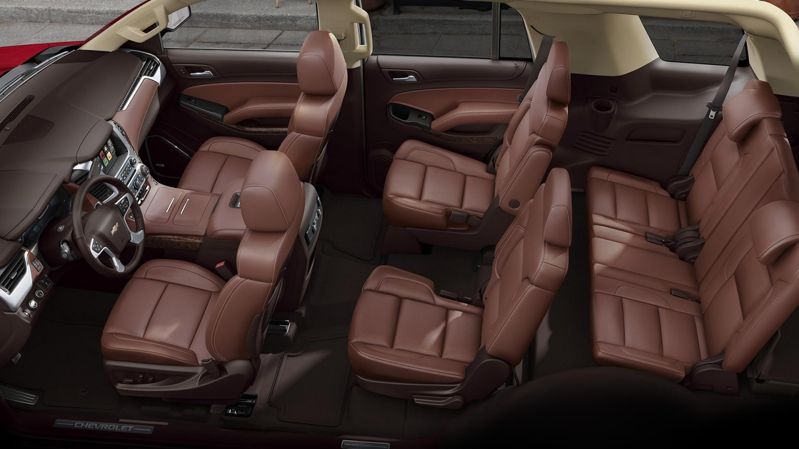 2016 Tahoe Interior Aerial View