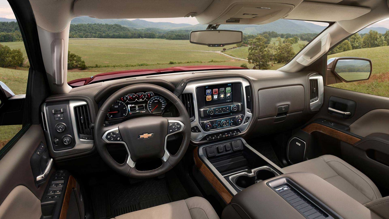 Chevy Silverado 2500HD Interior