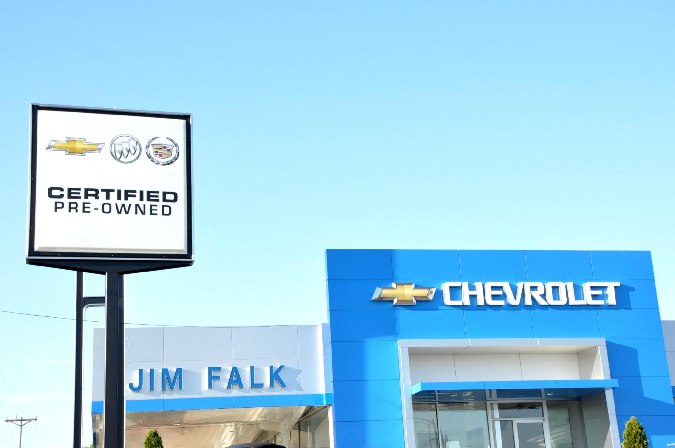 Jim Falk Motors Chevy, Cadillac, Buick dealership in Clinton MO