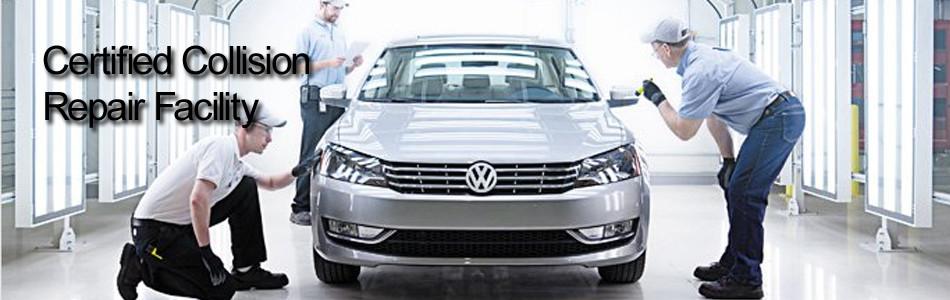 Eurobahn Volkswagen Auto Body Repair Collision Greensboro NC - Volkswagen collision repair